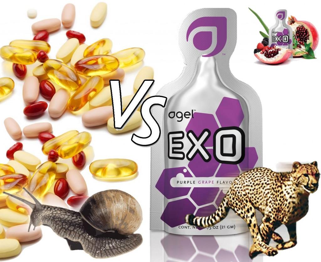agel vs pill supplement