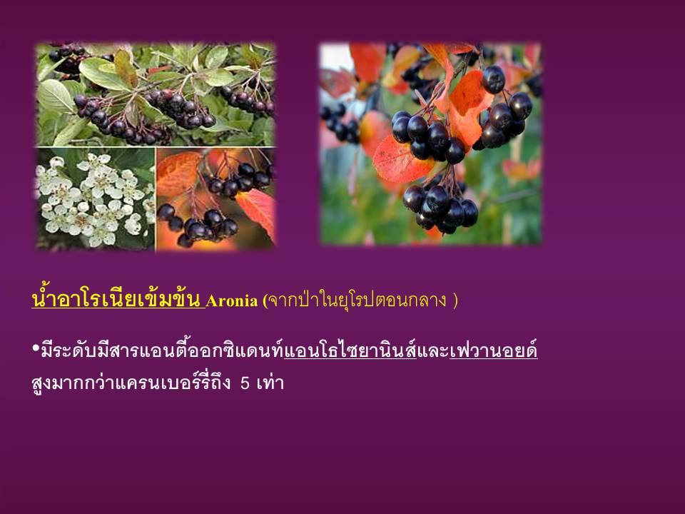 Aronia-fruit