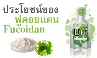 ประโยชน์ของ ฟูคอยแดน Fucoidan Agel-UMI